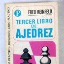 Libros: TERCER LIBRO DE AJEDREZ. Lote 165425398