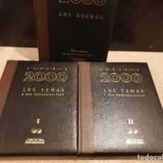 Libros: ANUARIO 2000...DIFUSORA INTERNACIONAL...LOS TEMAS Y SUS PROTAGONISTAS....LOS HECHOS... Lote 165503814