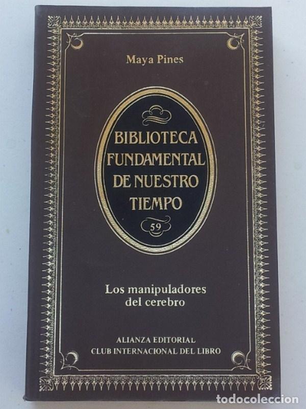 Libros: Los manipuladores del cerebro - Pines, Maya - Foto 2 - 164394560