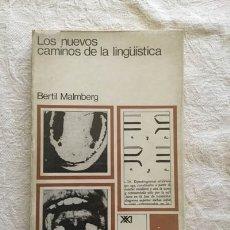 Livros em segunda mão: LOS NUEVOS CAMINOS DE LA LINGÜISTICA - BERTL MALMBERG. Lote 164447849
