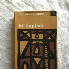 Livros em segunda mão: EL FUGITIVO - RAMÓN J. SENDER. Lote 164455166