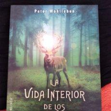 Libros: LA VIDA INTERIOR DE LOS ANIMALES. PETER WOHLLEBEN.. Lote 165960374