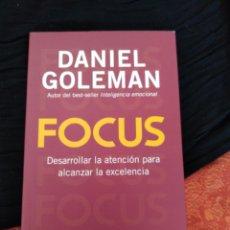 Libros: FOCUS. DANIEL GOLEMAN. Lote 171644539