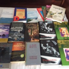 Libros: LOTE LIBROS VARIADOS, 17 EJEMPLARES. Lote 166070822