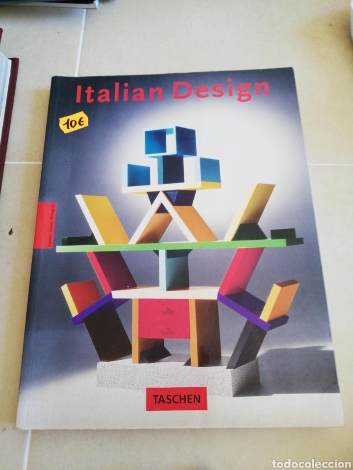 ITALIAN DESIGN, EDITORIAL TASCHEN (Libros sin clasificar)