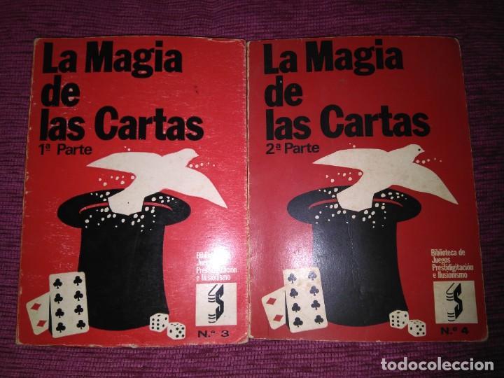 LA MAGIA DE LAS CARTAS. JUEGOS, PRESTIDIGITACIÓN E ILUSIONISMO. POR WHO? (Libros sin clasificar)
