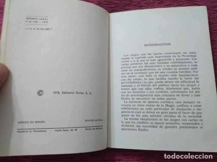 Libros: La magia de las cartas. Juegos, prestidigitación e ilusionismo. Por Who? - Foto 4 - 166842894