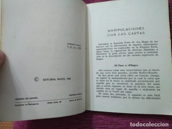 Libros: La magia de las cartas. Juegos, prestidigitación e ilusionismo. Por Who? - Foto 10 - 166842894