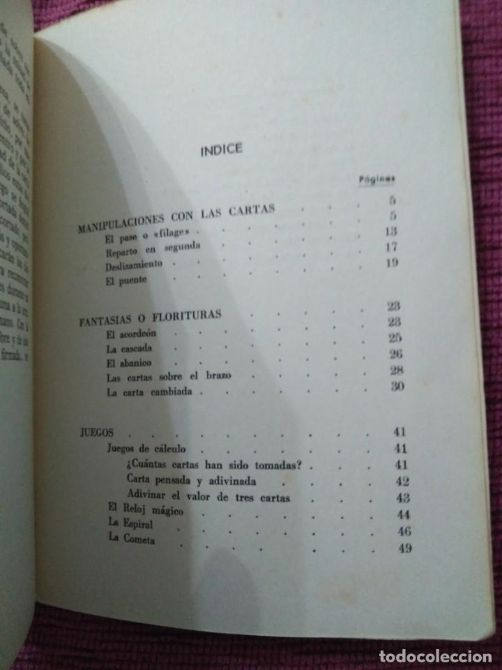 Libros: La magia de las cartas. Juegos, prestidigitación e ilusionismo. Por Who? - Foto 11 - 166842894