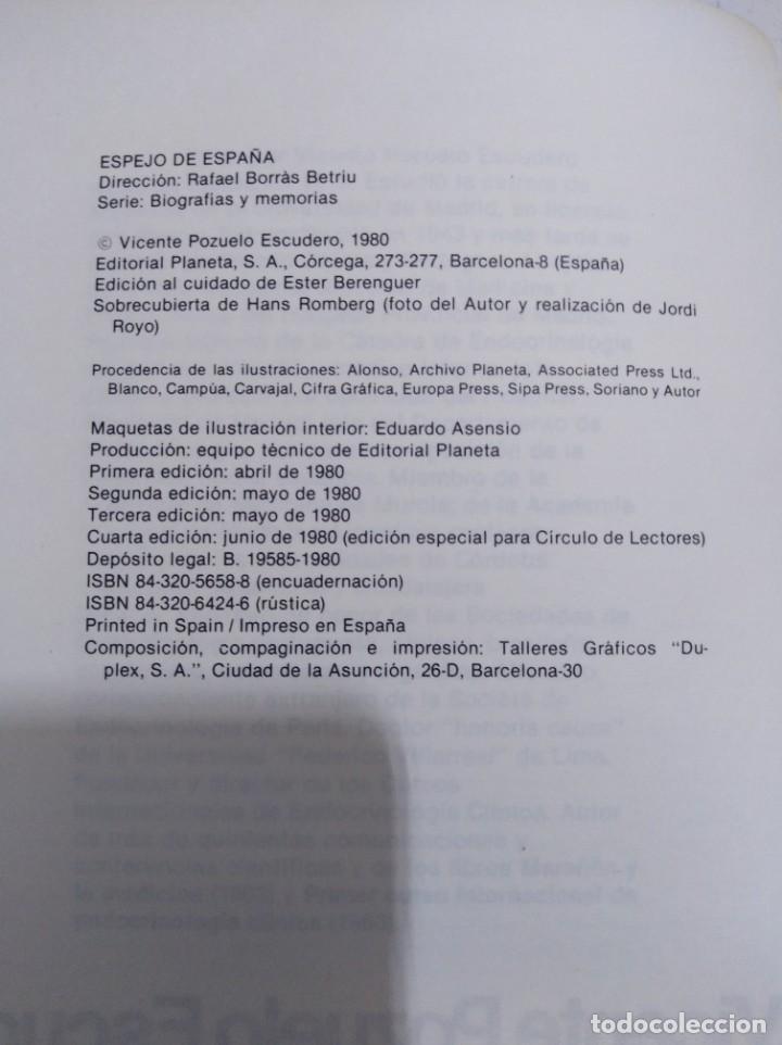 Libros: Libro los últimos 476 días de Franco Vicente pozuelo - Foto 3 - 166916460