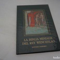 Libros: LA BIBLIA MINIADA DEL REY WENCESLAO / CASARIEGO. Lote 166933852