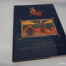 Libros: EL BEATO DE SAN MIGUEL DE ESCALADA / CASARIEGO. Lote 166934456