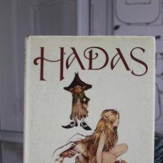 Libros: HADAS, BRIAN FROUD Y ALAN LEE. EDICIONES MONTENA 1972. UN LIBRO PRECIOSO. Lote 252566985