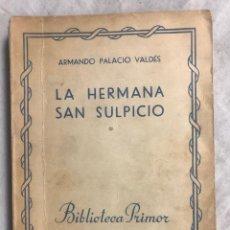Libros: LA HERMANA SAN SULPICIO. Lote 127398612