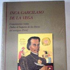 Libros: COMENTARIOS REALES: (SOBRE EL IMPERIO DE LOS INCAS DEL ANTIGUO PERÚ). Lote 206441296