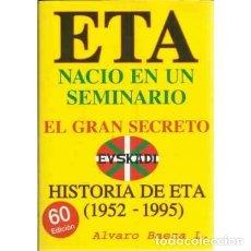 Libros - ETA nació en un Seminario. El gran secreto - Baeza L, Álvaro - 167235068