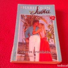 Libros: LIBRO NOVELA HARLEQUIN JULIA Nº 686 ELIZABETH OLDFIELD DESEOS PROHIBIDOS 1995 158 PÁGINAS VER FOTOS . Lote 167531328