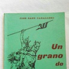 Libros: UN GRANO DE ARENA VALENCIA 1973. Lote 167558042