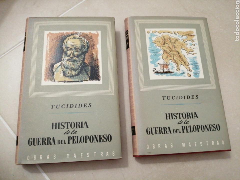 TUCIDES, HISTORIA DE LA GUERRA DEL PELOPONESO, EDITORIAL IBERIA (Libros sin clasificar)