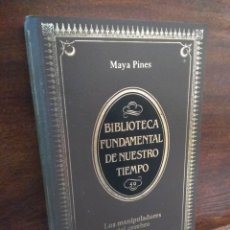 Libros: LOS MANIPULADORES DEL CEREBRO. Lote 167820676