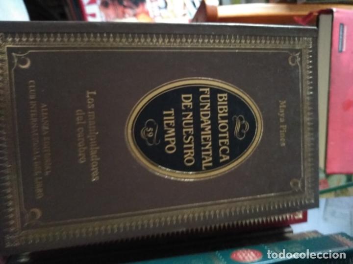LOS MANIPULADORES DEL CEREBRO MAYA PINES 1984 ALIANZA BIBLIOTECA FUNDAMENTAL Nº59 (Libros sin clasificar)