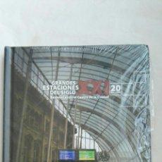 Libros: GRANDES ESTACIONES DEL SIGLO XXI 150 AÑOS DE FERROCARRIL CD-ROM. Lote 168006206