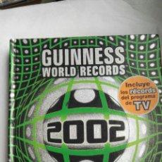 Libros: LIBRO GUINNESS DE LOS RECORDS 2002. Lote 168294454
