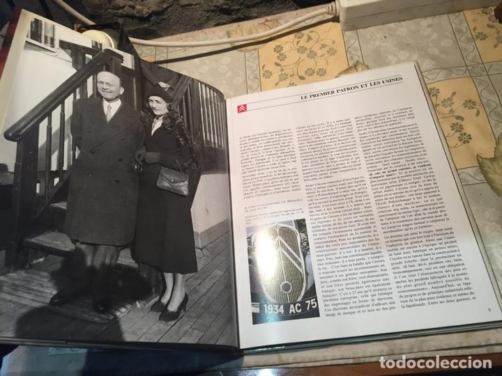 Libros: Antiguo libro les prestigieuses marcas Citroen por Fabien Sabatés libro de automoviles - Foto 3 - 168523380