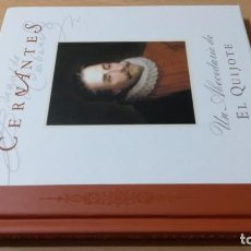 Libros: CERVANTES - UN ABECEDARIO DEL QUIJOTE - IV CENTENARIO - BROSQUIL ZORRO ROJO - ALEJANDRO G. SCHNETZER. Lote 268605399