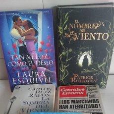 Libros: LOTE DE 5 LIBROS. Lote 169151804