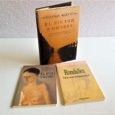 Libros: 3 LIBROS - EL PINTOR D-OBRES + EL VIOLI D-AUSCHWITZ + RONDALLES (EN CATALAN CREO). Lote 169193436