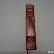 Libros: OBRAS COMPLETAS MIGUEL HERNANDEZ / EDITORIAL LOSADA CON CAJA FUNDA. Lote 169195920