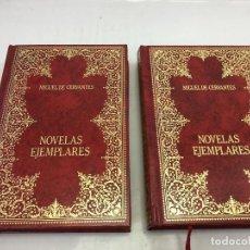Libros: NOVELAS EJEMPLARES 2 TOMOS - MIGUEL DE CERVANTES - AMIGOS DO LIVRO EDITORES, LISBOA. Lote 169410168