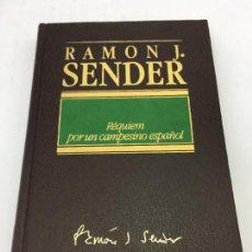 Libros: REQUIEM POR UN CAMPESINO ESPAÑOL - RAMON J. SENDER - EDICIONES DESTINO - 1984. Lote 169414584