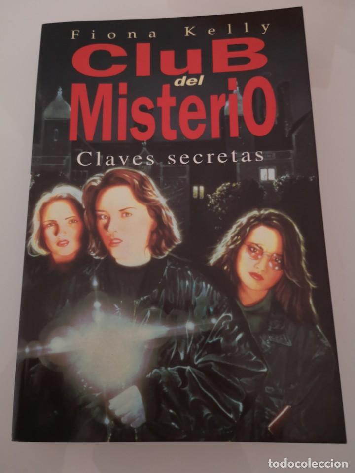CLUB DEL MISTERIO PRIMER EJEMPLAR NÚMERO 1 PRIMERA EDICIÓN JUNIO DE 1997 NUEVO CLAVES SECRETAS (Libros Nuevos - Literatura - Narrativa - Aventuras)