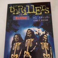 Libros: NOCHES DE HALLOWEEN II LOS THRILLERS DE R L STINE PRIMERA EDICIÓN OCTUBRE DE 1998 NUEVO . Lote 169978892