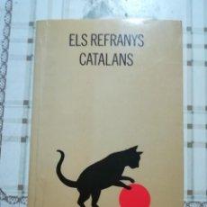 Libros: ELS REFRANYS CATALANS - MARIA CONCA - EN CATALÀ. Lote 170202948