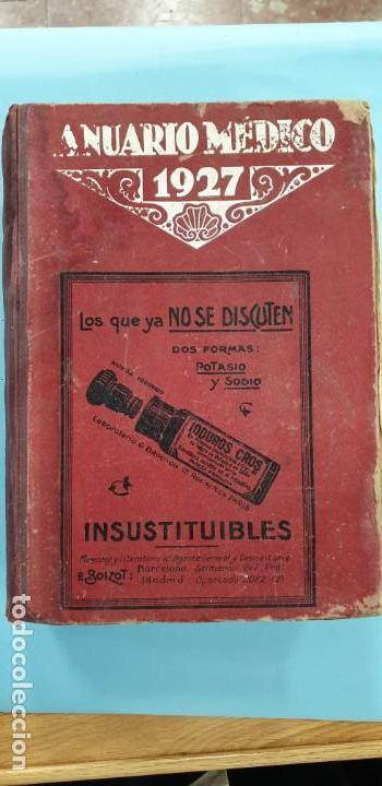ANUARIO MEDICO 1927 (Libros sin clasificar)