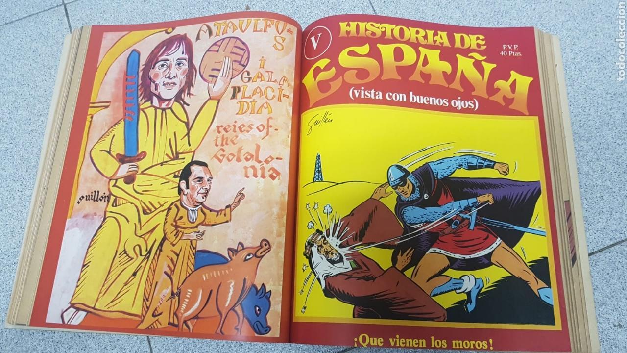 Libros: Historia de España vista con buenos ojos del número 1 al 10 encuadernado. - Foto 3 - 170448492