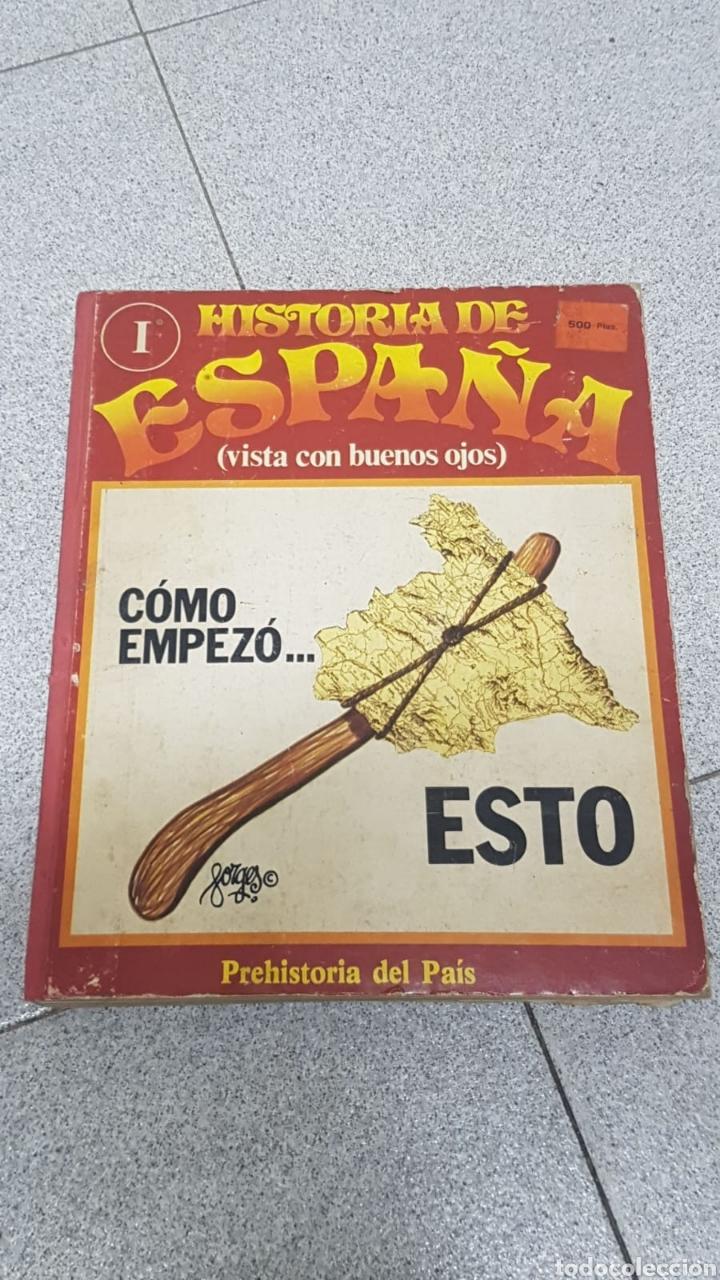 HISTORIA DE ESPAÑA VISTA CON BUENOS OJOS DEL NÚMERO 1 AL 10 ENCUADERNADO. (Libros sin clasificar)