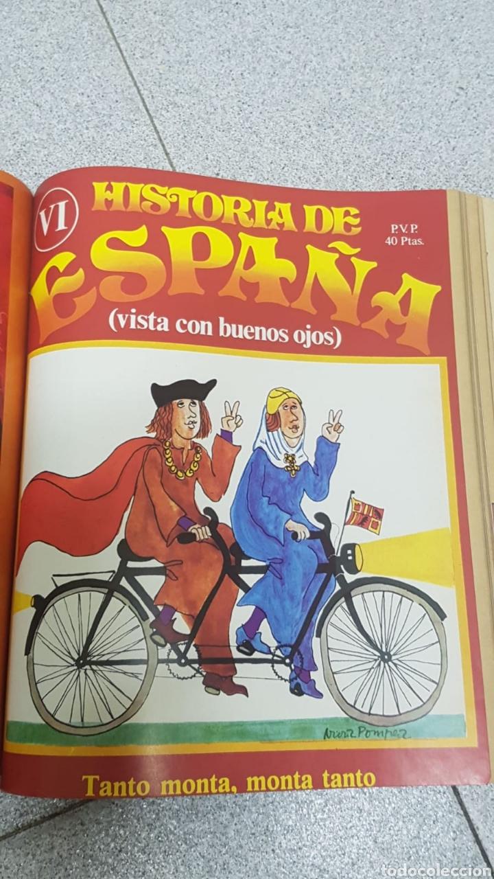 Libros: Historia de España vista con buenos ojos del número 1 al 10 encuadernado. - Foto 2 - 170448492