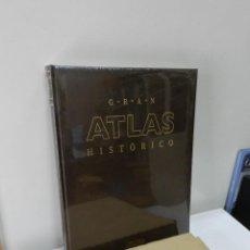 Libros: GRAN ATLAS HISTORICO DIFUSORA INTERNACIONAL GRAN FORMATO NUEVO AUN PRECINTADO Y CAJA. Lote 170509044