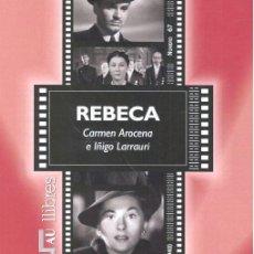 Libros: REBECA ALFRED HITCHCOCK (1940). Lote 170731524