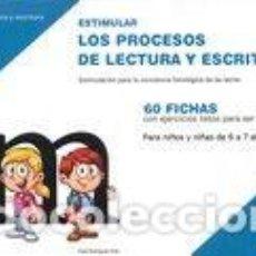 Libros: ESTIMULAR PROCESOS LECTURA ESCRITURA NIVEL 5. Lote 170840344