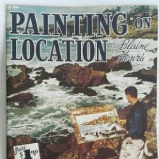 Libros: PAINTING ON LOCATION WALTER T. FOSTER. Lote 171084418