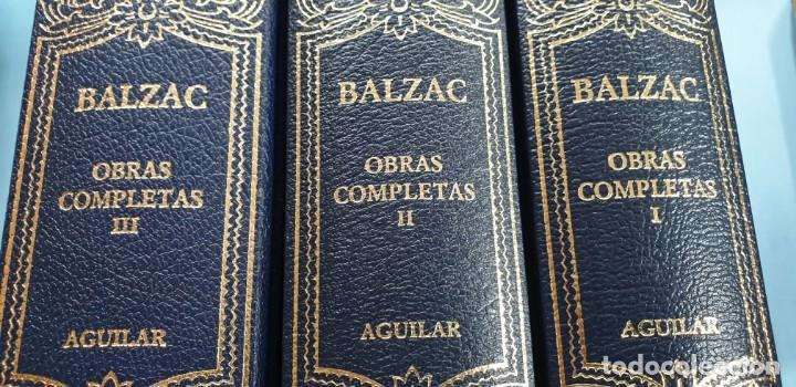 Libros: obras completas tomos 1 -2-3 balzac aguilar excelente estado - Foto 2 - 171094269
