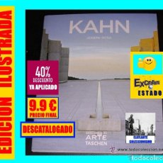 Libros: KAHN - JOSEPH ROSA - DESCUBRIR EL ARTE TASCHEN - DISEÑO ARQUITECTURA - 2008 - SEMINUEVO - 9.90 EUROS. Lote 171105135