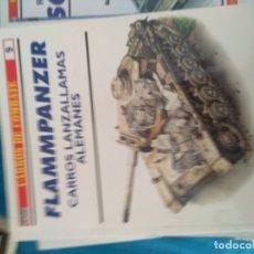 Libros: OSPREY - CARROS DE COMBATE Nº 9 : FLAMMPANZER , CARROS LANZALLAMAS ALEMANES 3. Lote 171296019
