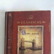 Libros: DIARIO THE CLASSICAL RETRO FLAVOR VINTAGE TAPA DURA 256 PAG. Lote 171492364