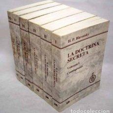 Libros: LA DOCTRINA SECRETA: SÍNTESIS DE LA CIENCIA, LA RELIGIÓN Y LA FILOSOFÍA. Lote 171567029